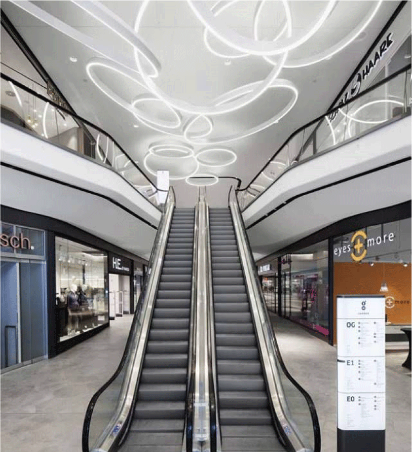 Olympic Galleria escalator