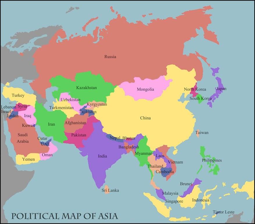 political-map-of-asia-mongolia