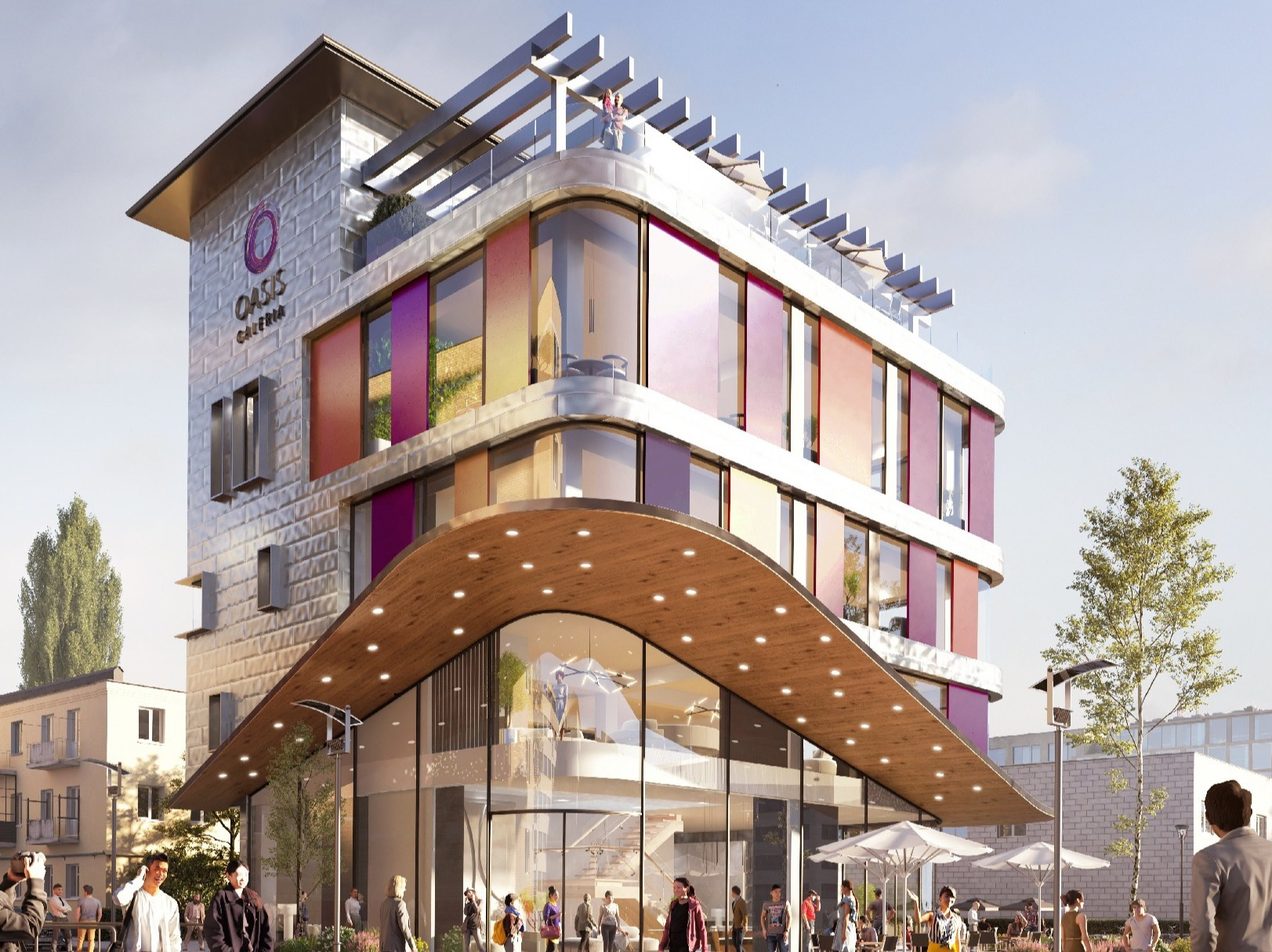 Oasis Galleria Development Project